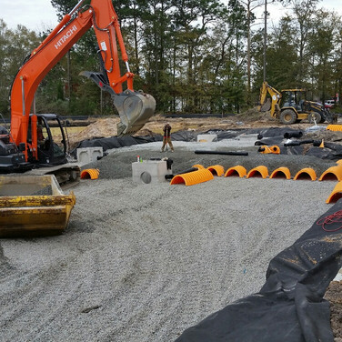 Underground Advanced Drainage System