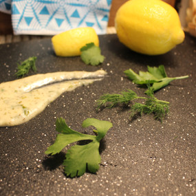 Lemon & Herb  Bechamel