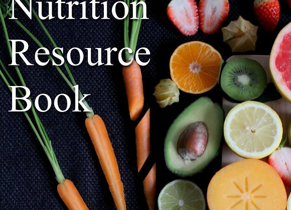Nutrition Resource Book