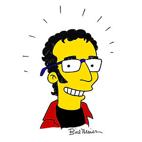 Simpsonized Kevin by Bill Morrison