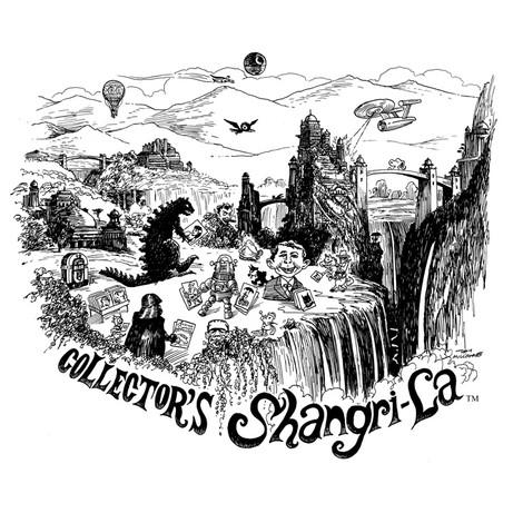 Collector's Shangri-La by Tony Millionaire