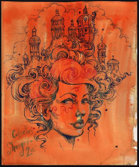 Collector's Shangri-La by Molly Crabapple