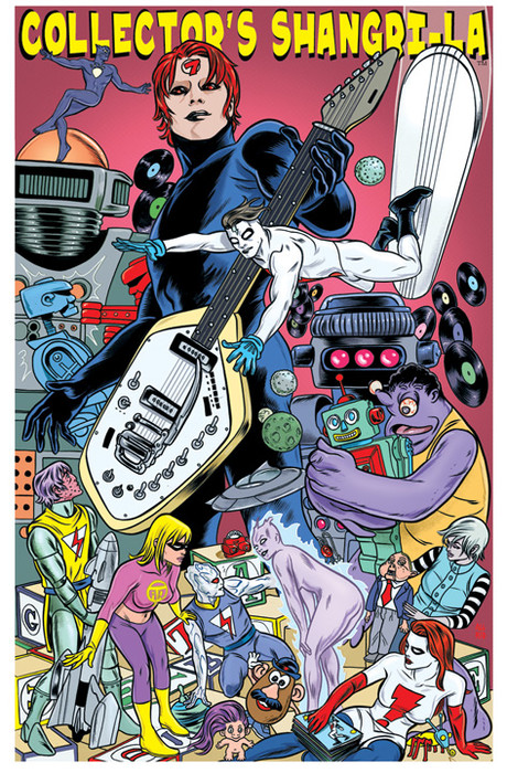Collector's Shangri-La by Laura and Mike Allred