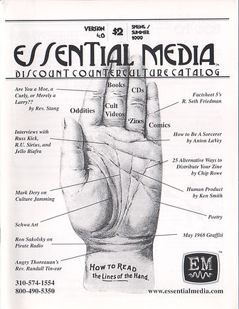 Essential Media Catalog 1999