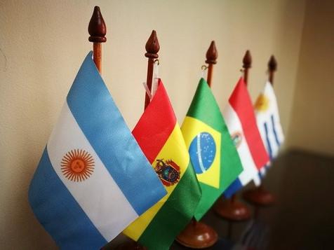 Blick auf Spanien, Portugal und Lateinamerika