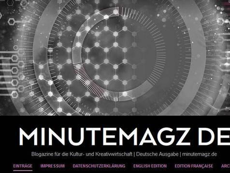 """Neu: Angela Büngers """"MINUTEMAGZ"""""""