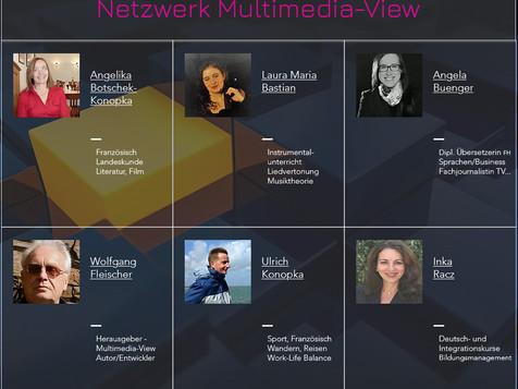 Netzwerk Multimedia-View: Dozenten und Autoren