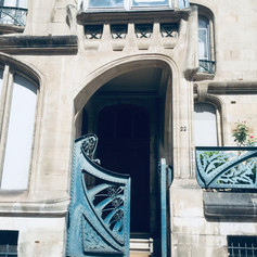 Maison Biet, Eingang