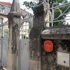 Maison Majorelle Eingangs-portal