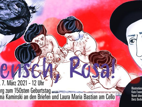 Mensch Rosa! - Livestream! Mit Laura Maria Bastian!