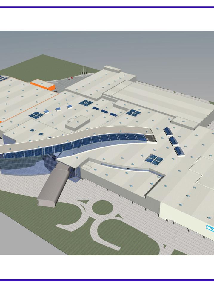 Centre commercial «MEGA-IKEA nº2 Belaya datcha». surface 250´000 m2