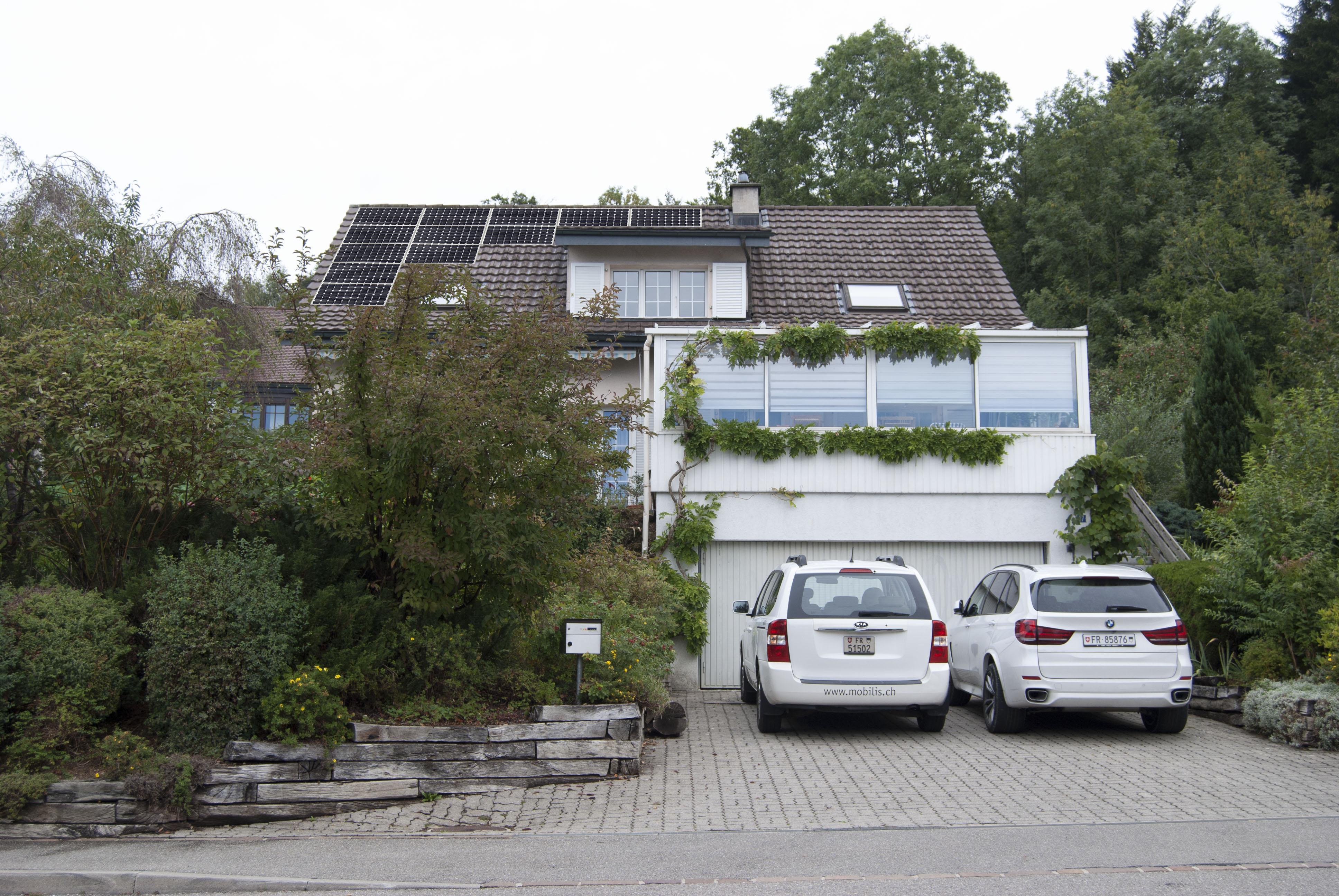 Installation des panneaux solaires. Dossier pour la mise à l'enquête. dossier Swissgrid. existant