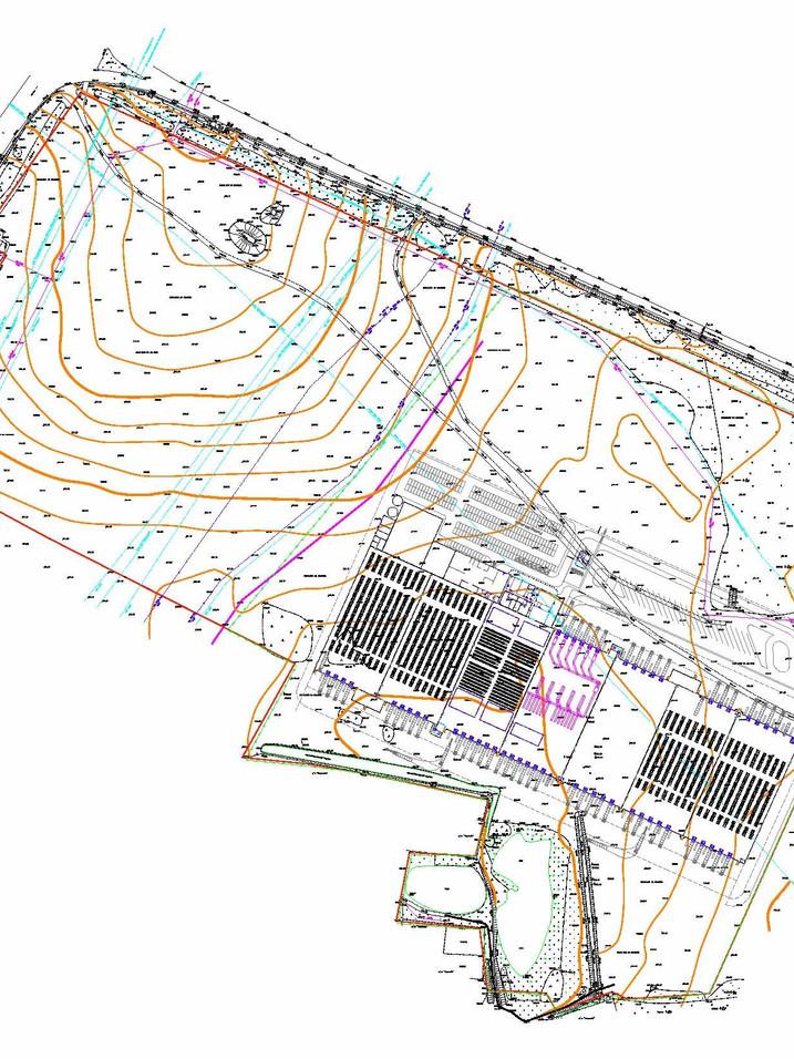 DECATHLON. magasin et complexe de stockage d'article de sport. surface 80'000 m2