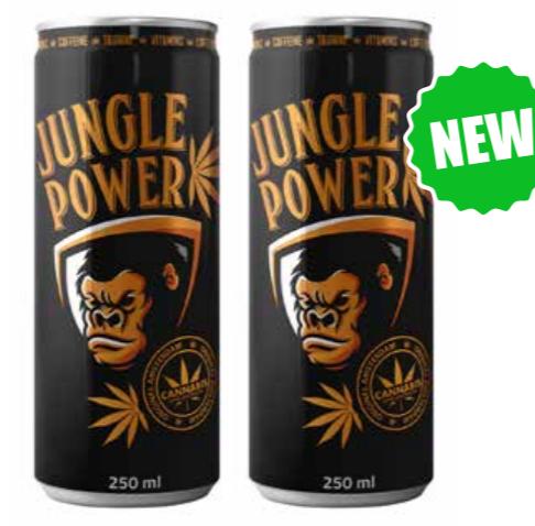Jungle power Gorilla energy drink