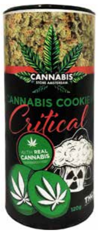 Cannabis cookie THCA critical tube