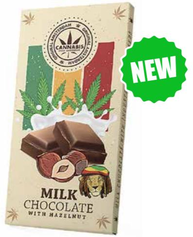 Rasta Chocolate milk con semi di canapa e nocciole