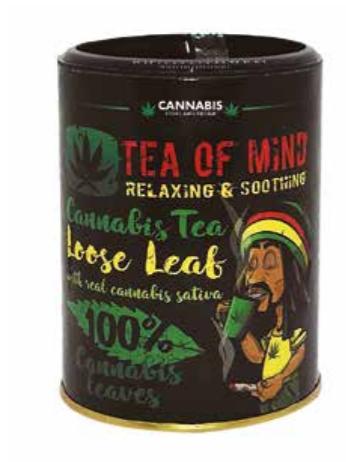 Tea of mind - cannabis loose leaf