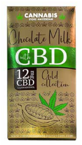 Chocolate CBD gold collection milk