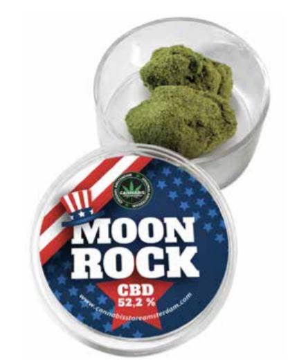 Cannabismile Moonrock cbd 52,2%