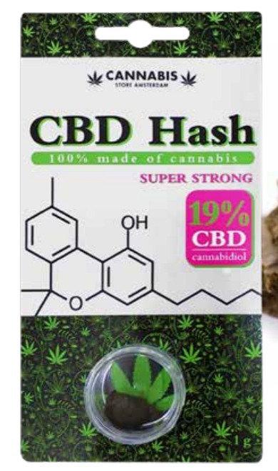 CBD Hash 19%