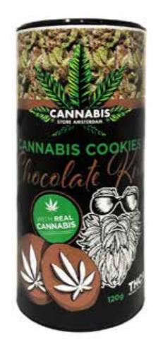 Cannabis cookie THCA chocolate kush tube