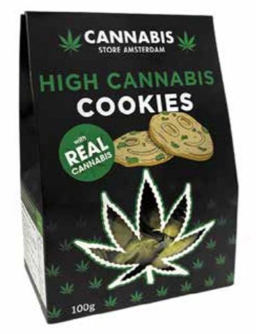 High cannabis cookie classic con CBD