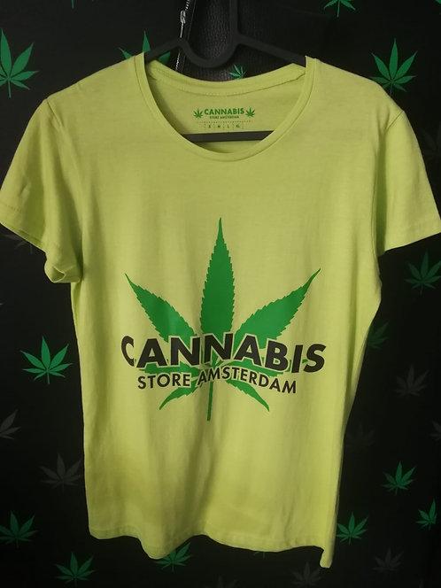 t-shirt uomo verde p