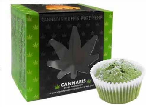 Muffin cannabis pure hemp