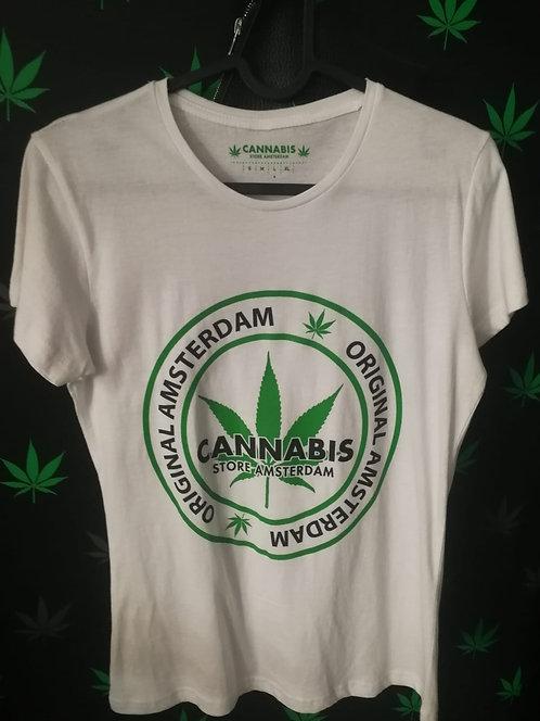 t-shirt uomo bianca o