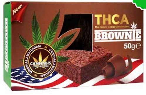 Brownie classic chocolate con semi di canapa