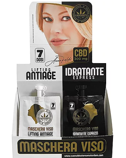 Maschera viso Antiage/Idratante