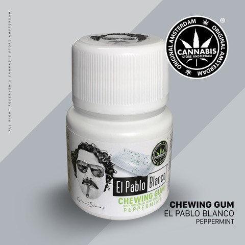 Chewing gum El Pablo Blanco