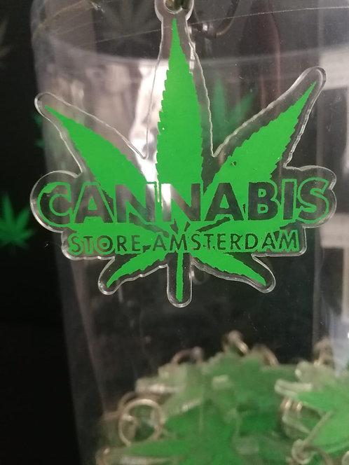 Portachiavi cannabis