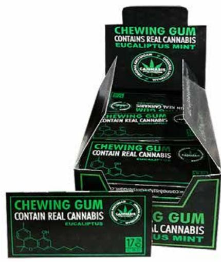 Chewing gum Eucalipto
