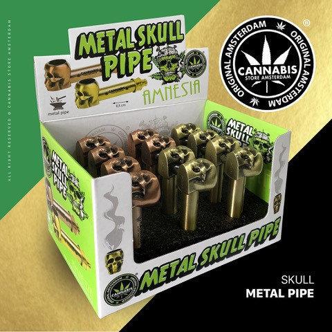 Metal Skull pipe