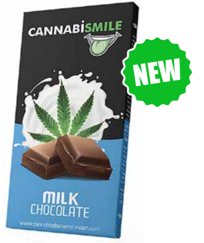 Cannabismile Chocolate milk con semi di canapa