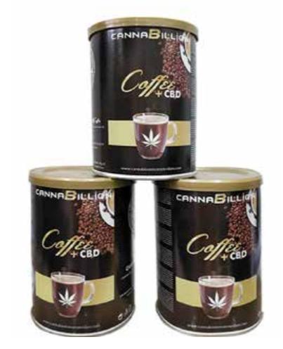 Cannabillion caffè macinato +CBD per moka