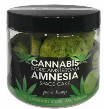 Cannabis cookie Pure hemp amnesia