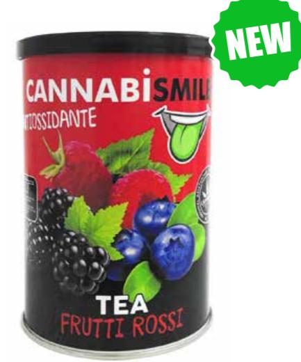 Tea solubile - Frutti rossi