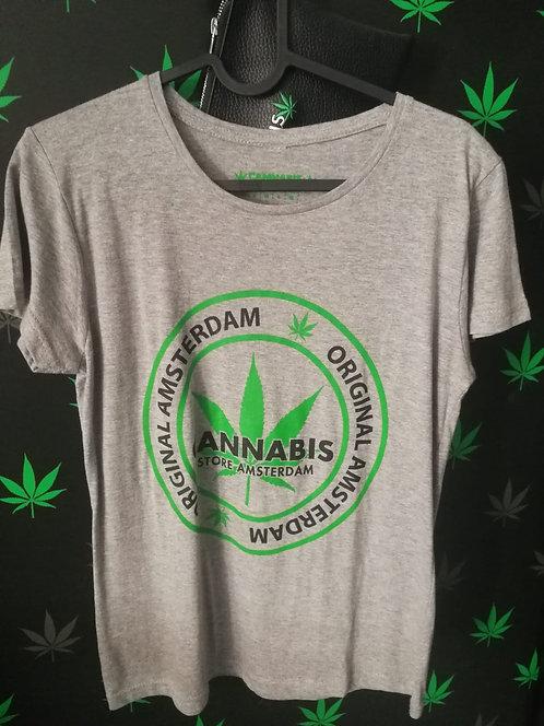 t-shirt donna grigia o