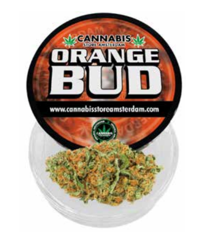 Cannabismile Orange Bud