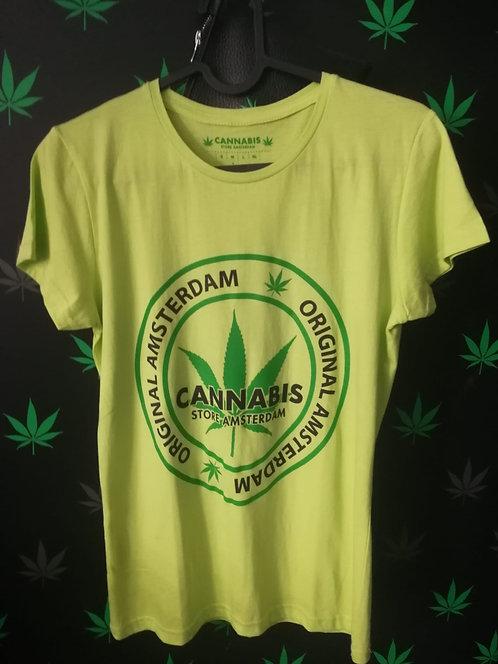 t-shirt uomo verde o