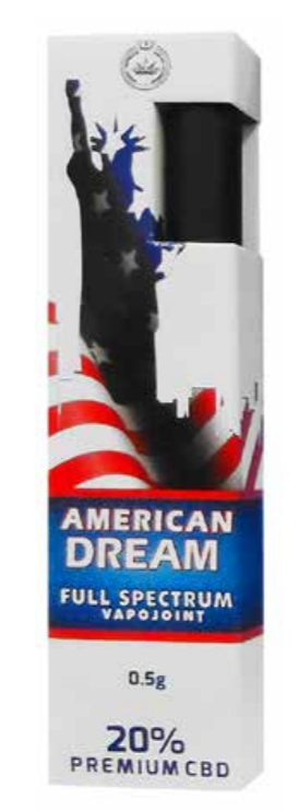 Vapojoint 20% CBD American dream
