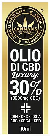 Olio di CBD Luxury
