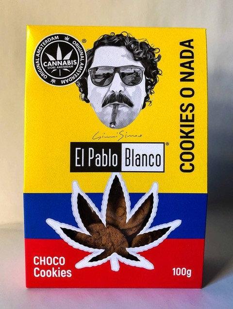High cannabis cookie choco El Pablo Blanco con CBD