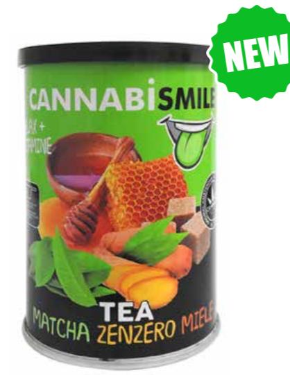 Tea solubile - Matcha zenzero miele