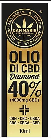 Olio di CBD Diamond