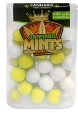 Cannabis drops mint THCA