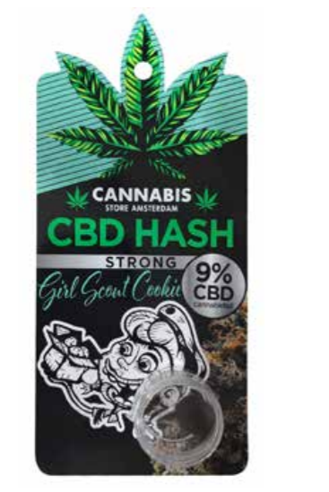 CBD Hash Girl scout cookie 9%
