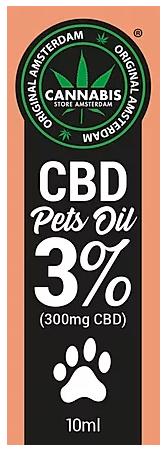 Olio di CBD per animali